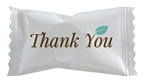 Hospitality Mints Buttermints, Individually Wrapped Mints with Thank You Message, 26 Ounce, Appx. 200 pieces