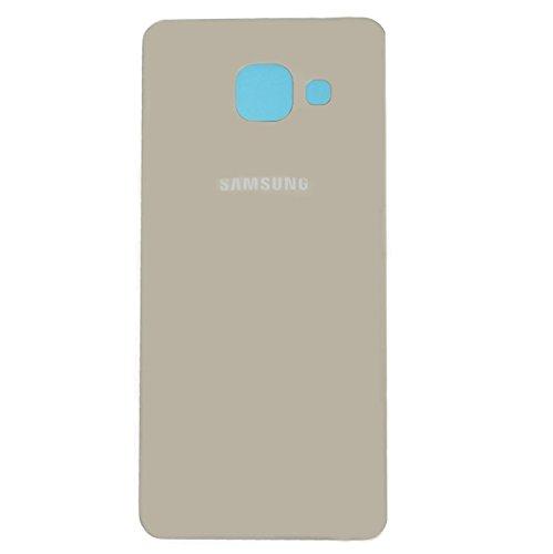 Todotumovil Tapa Trasera de bateria Cristal Trasero para Samsung Galaxy S7 Edge Back Cover Dorado