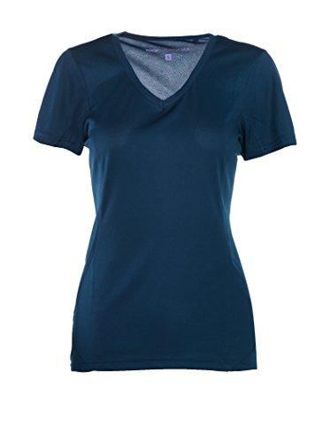 Rock Experience Ambit, T-Shirt Femme Respirant w13 K081-re - Bleu - Small