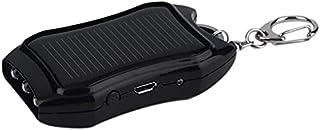 SUYING Ficknyckelring Solar Power Bank 2000 mah, extern laddare med tre LED-lampor och USB-port, kompatibel med Iphone, Ip...
