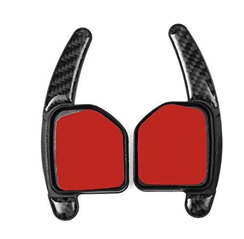 MINGRUI FangH Fibra de Carbono Look Paddle CHEPT Shift Shift Shift Extensiones Tipos DE LA Rueda DE Viaje para A1 A3 S3 RS3 A4 S4 RS4 A5 A6 A7 A8 Q5 Q7 TT R8 (Color : Black)