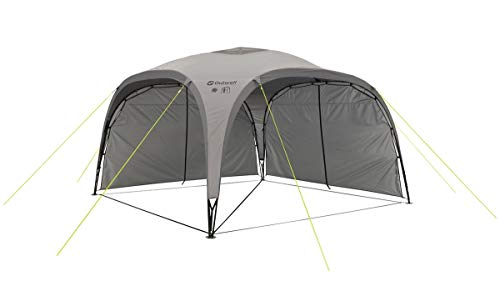 Outwell Event Lounge L Side Wall With Zip For Shelter Tent Grey