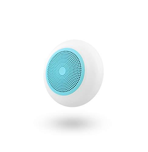 T´NB- Altavoz Rosa con Bluetooth y Lector de Tarjetas Micro SD Integrado - Compatible con Todo los Dispositivos electrónicos. Retroiluminación LED
