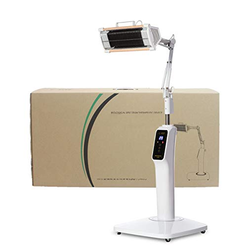 Read About YLTTZ Infrared Light Heating Floor Lamp, Mineral Therapy 300W Improve Blood Circulation A...