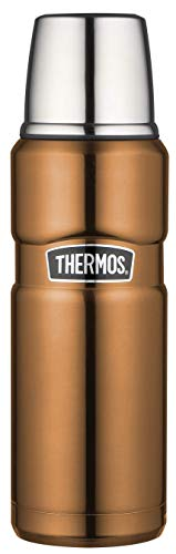 THERMOS Stainles King Thermosflasche Botella Aislante, Acero Inoxidable, Cobre, 0,47 L