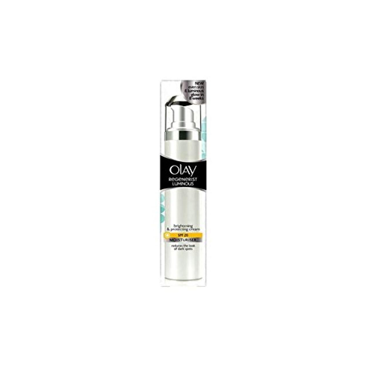 バーベキュー見る人ミシンOlay Regenerist Luminous Day Cream Spf20 (50ml) (Pack of 6) - オーレイリジェネ発光デイクリーム20(50ミリリットル) x6 [並行輸入品]