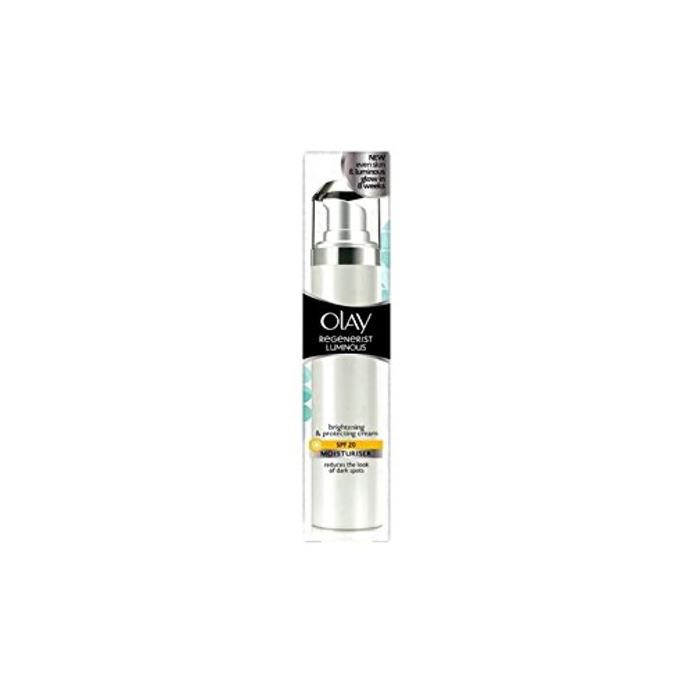 とても習字痴漢Olay Regenerist Luminous Day Cream Spf20 (50ml) (Pack of 6) - オーレイリジェネ発光デイクリーム20(50ミリリットル) x6 [並行輸入品]