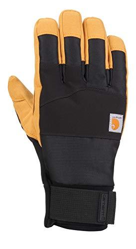 Carhartt Herren Stoker Glove Handschuhe für kaltes Wetter, Schwarze Gerste, XX-Large