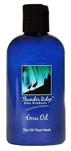 Thunder Ridge Emu Products Pure Emu Oil, 8 Ounce