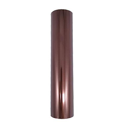 80 m/rol goud zilver warmdrukfolie papierrollen voor laminator lamineren warmteoverdracht op laserprinter diy kaart ambachtelijk papier, bruin