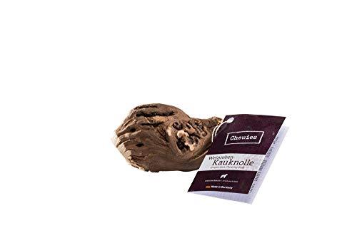 Chewies Kauwurzel für Hunde aus Weinreben - Kauspielzeug für Ihren Hund - natürlich, nachhaltig, mineralstoffreich - Kauholz ohne Schadstoffe (geprüft) - Größe S/M