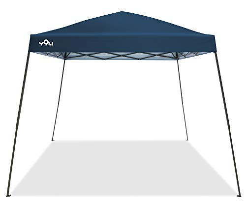 YOLI Adventure 64 10'x10' Instant Canopy with Midnight Blue Top