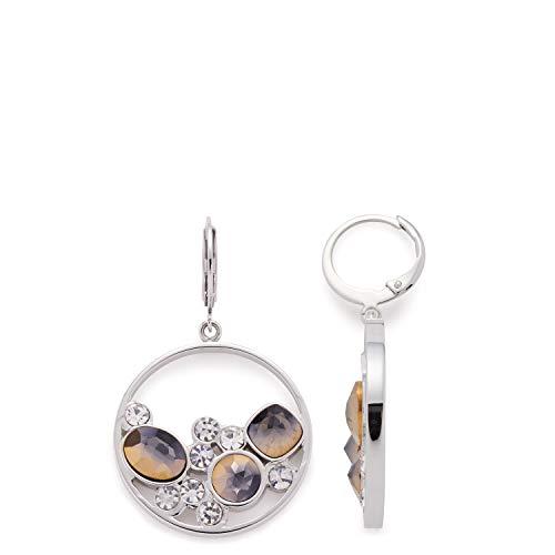 Jewels by Leonardo Damen-Hängeohrringe Edelstahl Glas 016974