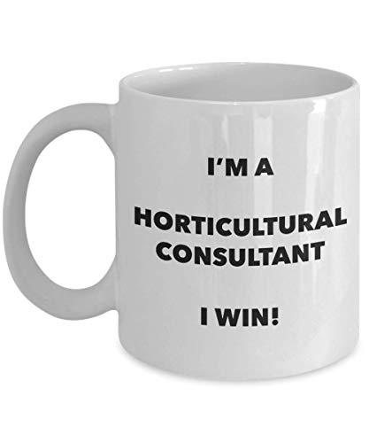 Soy un consultor de horticultura Taza Gano Taza de café divertida Idea de regalos de Navidad de cumpleaños