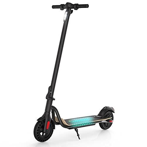 M MEGAWHEELS Electric Scooter,Monopattino Elettrico,Pieghevole e Regolabile in Altezza,Motore da 250 W 15 Km di Autonomia,velocità Fino a 23 Km/h,Sistemae Doppi Freni a Disco,Versione Italiana