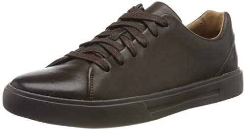 Clarks Un Costa Lace, Scarpe Stringate Derby Uomo, Marrone Brown Leather, 41 EU