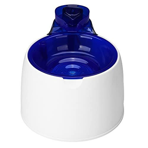 XLAIQ Fuente de agua automática para gatos, cuenco para beber eléctrico para gatos, comedero en cascada, bebedero automático para mascotas, dispensador de agua para gatos