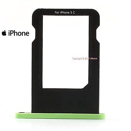 Vassoio carta verde Nano Sim per iPhone 5 c