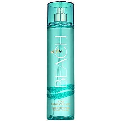 Bath and Body Works AT THE BEACH Fine Fragrance Mist 8 Fluid Ounce (2020 Edition)