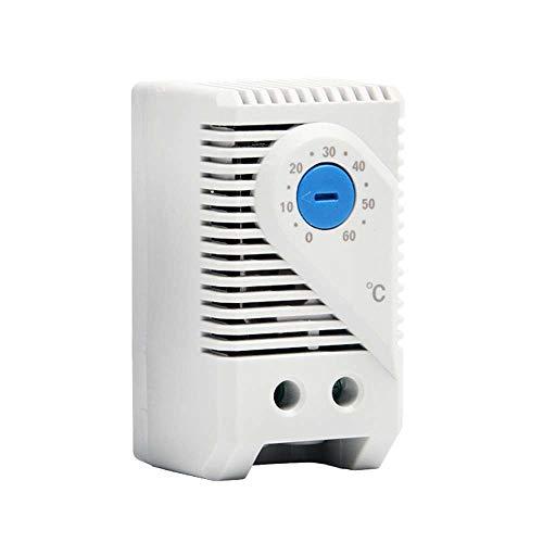 XJF Controlador de temperatura KTO 011, control automático del termostato del regulador 110V-250V del interruptor de temperatura
