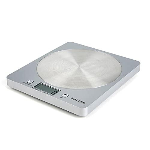 Salter 1036 Silver Digital Kitchen Scales