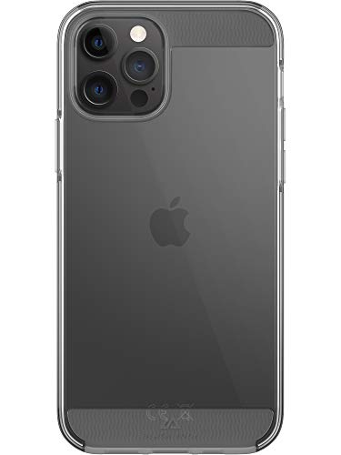 Black Rock - Hülle Air Robust Hülle passend für Apple iPhone 12/12 Pro | Handyhülle, Durchsichtig, Clear, Dünn (Transparent)