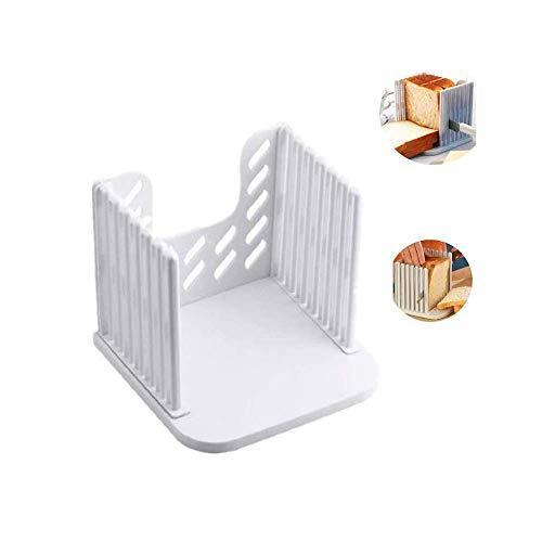 Cortador de pan, pan/horno/cortador de pan, compacto plegable pan sándwich tostadas rebanador de pan rebanador de pan