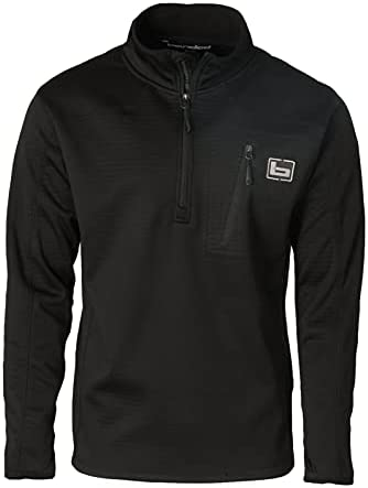 Banded 1/4 Zip Mid Layer Fleece Pullover