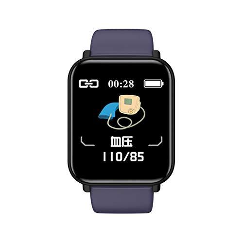 Fitpolo - Orologio fitness fitness fitness con cardiofrequenzimetro, monitoraggio del sonno, contapassi, impermeabile, compatibile con Android iOS, rosa