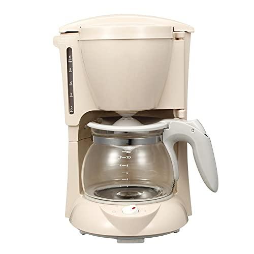 AOWU Coffee MakerMini American Coffee Drip Coffee Machine Portable Coffee Makerfor Home (Size: 16.9x18.7x27.4cm; Color:Pink)