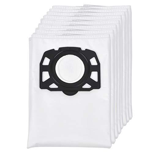 8 Pack Vliesfilterbeutel Ersatz für Karcher Staubsauger WD4 WD5 WD5 / Premium / MV4 / MK5 / MV6, Familienpackung von KEEPOW