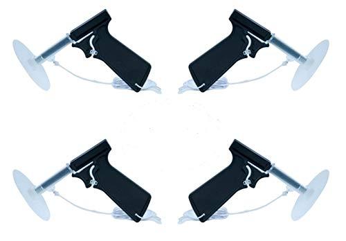 THE-ELIMINATOR Fly Swatter Guns (4 Pack) Spring Loaded Fly Guns