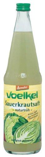 Voelkel Bio Sauerkrautsaft - milchsauer vergoren (1 x 700 ml)