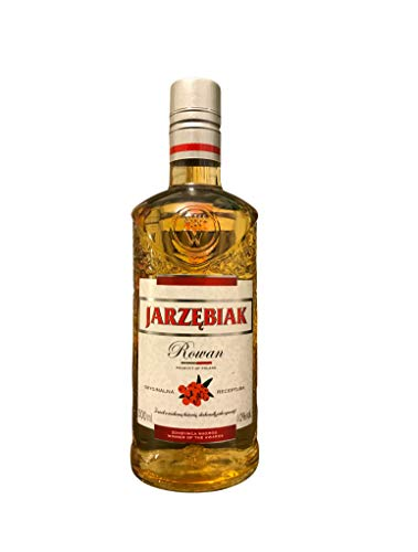 Jarzębiak | Wodka-Klassiker | Vogelbeerenwodka | 40{0cc4221b815baa86e5b83069f5468391125a4ea1944f4d49b0a6d5d94975f29d}, 0,5 Liter