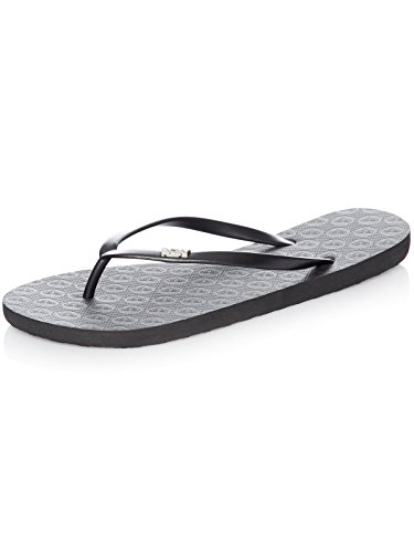 Roxy (ROY11) Viva-Flip-Flops For Women, Zapatos de Playa y Piscina para Mujer, Black Black, 38 EU
