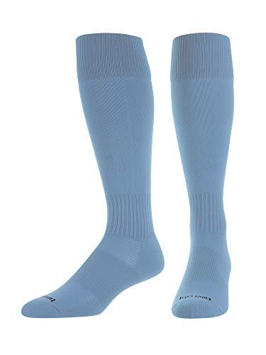TCK Elite Finale Soccer Socks (Columbia Blue, Large)