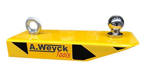 A. Weyck Tools Gabelstapler Rangierhilfe mit Kugelkopf Radlader Stapler Anhänger Wohnwagen #28