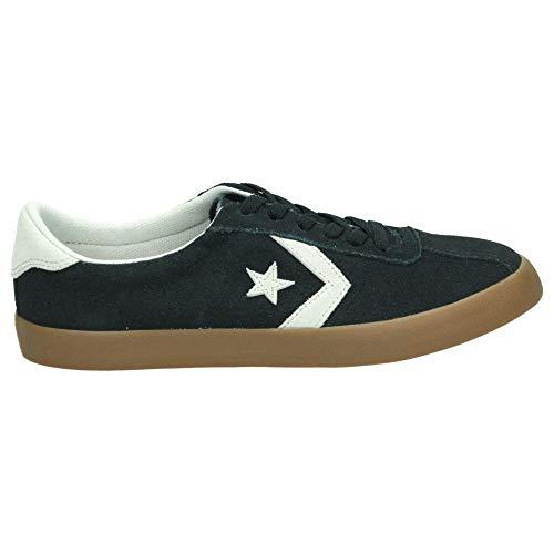 Converse Lifestyle Breakpoint Ox Suede, Zapatillas de Deporte Unisex niño, Negro (Black/Pale Putty/Gum 001), 35/36 EU