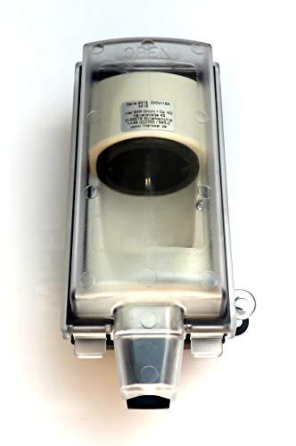 Inter BÄR - 9015-001.01 Außensteckdose abschließbar Schuko 220688