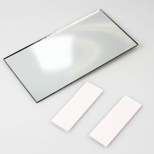 AutoScheich® KFZ LKW Make-Up Spiegel Schminkspiegel Sonnenblende Innen Zusatz Rückspiegel