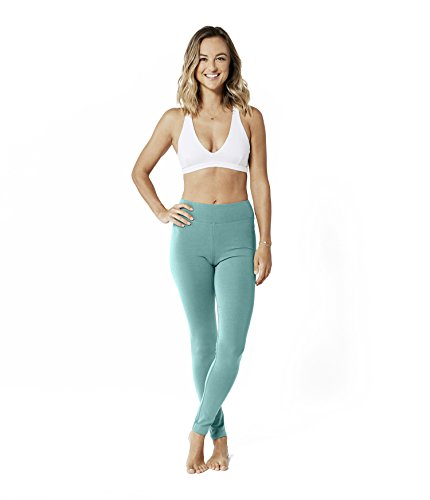 Lotuscrafts Yoga Leggings Damen Lang aus Bio-Baumwolle - Fair & Ökologisch - Yoga Sporthose für Damen - Sport Leggings Frauen