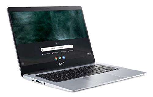 Acer Chromebook CB314-1HT-C7GS Notebook Touchscreen 14 Zoll HD (Intel Celeron, 4 GB RAM, 64 GB eMMC, Intel UHD Graphics, Chrome OS) Tastatur AZERTY Französisch