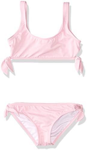 Billabong Girls Sunset Glow Hky Tie Two Piece Swim Set Lily 14 product image