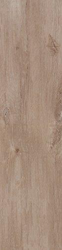 Bodenfliesen Lodge braun-natural matt rektifiziert im Großformat 30x120cm aus Feinsteinzeug Fliesen in Holzoptik (Muster ab 10x10cm)