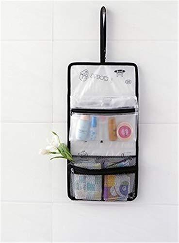 Baroio Travel - Neceser con Compartimentos y asa para Mujer, Bolsa de Viaje Plegable, Bolsa de Viaje portátil, Ideal para Las Vacaciones al Aire Libre