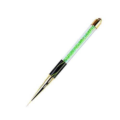 Tongshi UV Gel Pen Nailart Pen schnitzen Pinsel Acryl Griff Salon Werkzeug (Minzgrün)