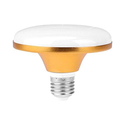 Starnearby AC 220 V E27 LED Lampe Energiesparende UFO-Glühbirne für Heimbeleuchtung (15 W)