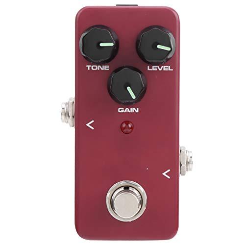 Pedal de efecto distorsión Mini compresor Pedal de guitarra para procesador de efecto de pedal de guitarra eléctrica