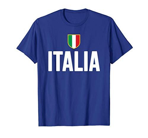 Italia Scudetto Tricolore Bandiera Italiana Maglietta