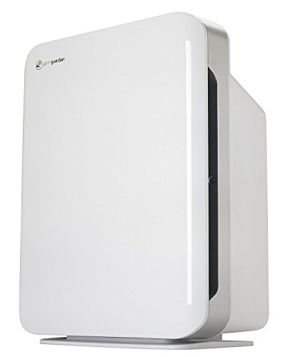 GermGuardian Air Purifier 4 in 1,High CADR True HEPA Filter, Large Rooms to338 sq ft, UV Light Sanitizer Eliminates Germs, Filters Allergies, Pollen, Smoke, Dust, Pet Dander,Mold, Odors,QuietAC5900W